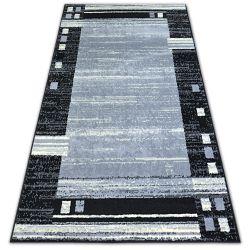 Koberec BCF BASE CHASSIS 3881 RÁM šedá/černá