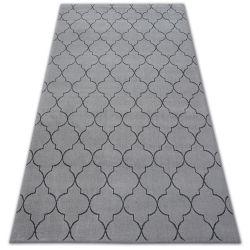 Koberec SENSE 81220 stříbrný/antracit