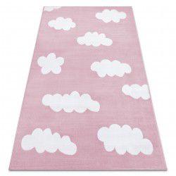 Koberec BCF ANNA Clouds 2661 mraky růžový