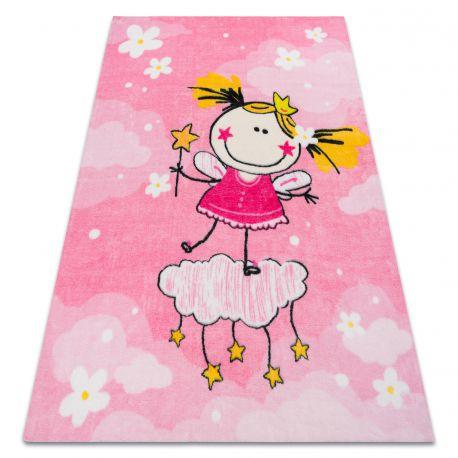 Koberec PLAY princezna dívka G3629-2 růžový