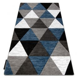 Koberec ALTER Rino trojúhelníky modrý