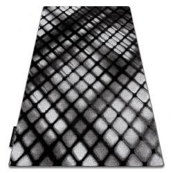 Koberec INTERO REFLEX 3D laťková mříž šedá