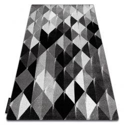 Koberec INTERO PLATIN 3D Trojúhelníky šedá