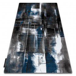 Koberec INTERO ART 3D Abstrakce modrý