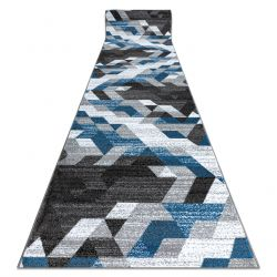 Béhoun INTERO TECHNIC 3D diamanty trojúhelníky modrý