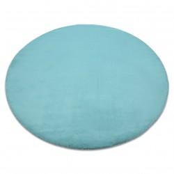 Koberec BUNNY kruh aqua modrý