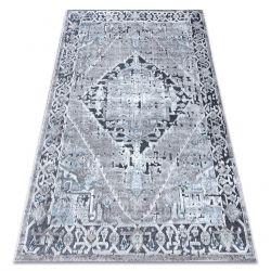 Koberec Structural SIERRA G6038 ploché tkané šedá - růžice
