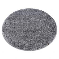 Koberec SHAGGY NARIN kruh P901 šedá