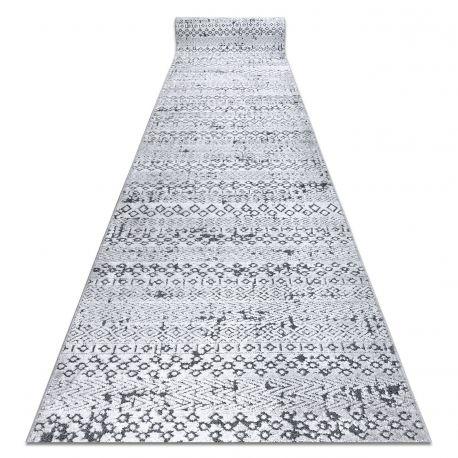 Béhoun Structural SIERRA G6042 ploché tkané šedá - geometrický, etnický