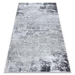 Moderní koberec MEFE 6182 Beton - Structural dvě úrovně rouna šedá