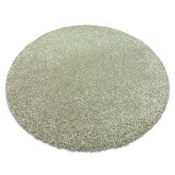 Moderní mycí koberec ILDO 71181044 kruh olivový zelená