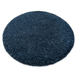 Moderní mycí koberec ILDO 71181090 kruh tmavě modrá