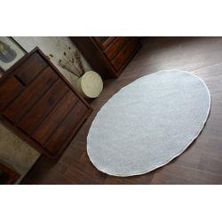 Carpet kruh UTOPIA stříbro