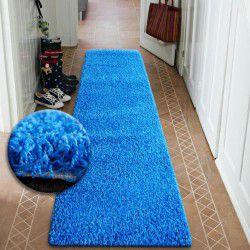 Béhoun SHAGGY 5cm modrý