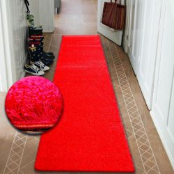 Béhoun SHAGGY 5cm červený
