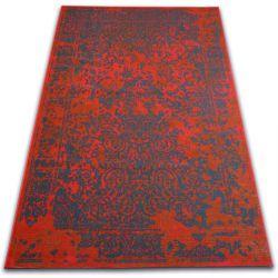 Koberec VINTAGE 22208/021 červený klasická rozeta