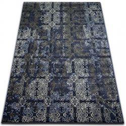 Koberec DROP JASMINE 453 Tmavě modrá