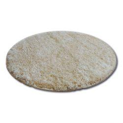Koberec kruh SHAGGY NARIN P901 garlic/zlato béžový
