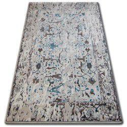 Koberec ACRYLOVY TALAS 0309 White/Glass Blue