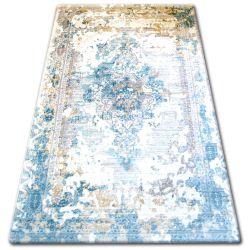 Koberec ACRYLOVY TALAS 0300 Sand Beige/Glass Blue