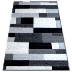 Koberec PILLY H201-8403 -  černý/stříbro