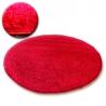 Koberec kruh SHAGGY GALAXY 9000 červená
