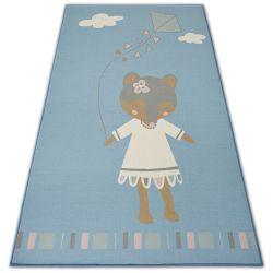 KOBEREC pro děti LOKO Myš modrý protiskluzový