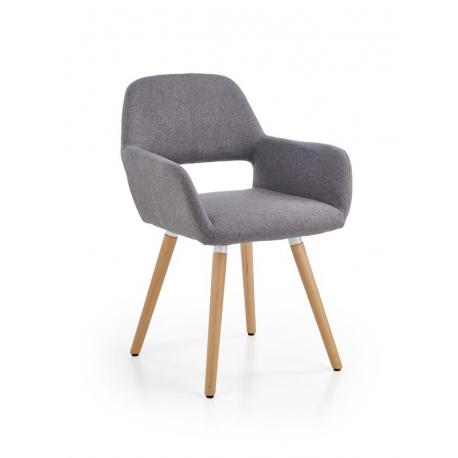 Židle K283 šedá