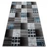 Koberec FEARY N9045 Šachovnice šedá