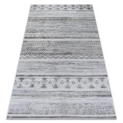 Koberec NOBIS 84245 stříbro - CIKCAK