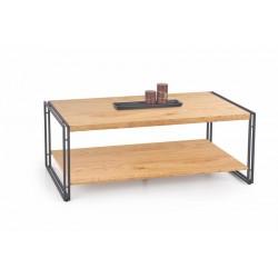 Konferenční stolek BAVARIA zlato / černý
