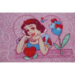 Koberec DĚTSKÝ DISNEY KSIĘŻNICZKI růžový