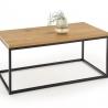 Konferenční stolek ARUBA zlato / černý
