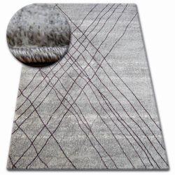Koberec SHADOW 9367 šedá / šeřík